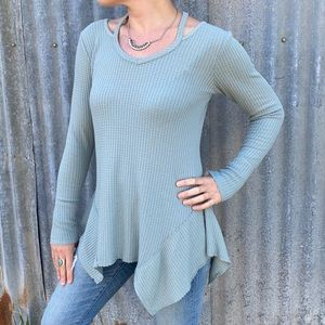 Maurices | strappy neck thermal top